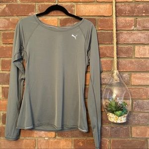 Puma Long Sleeve Workout Top